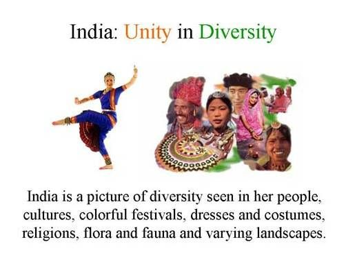 390 words short essay on Unity in Diversity