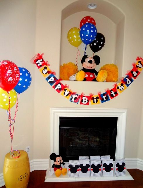 """Photo 4 of 23: Mickey Mouse / Birthday """"Mickey Mouse 1st Birthday"""" 