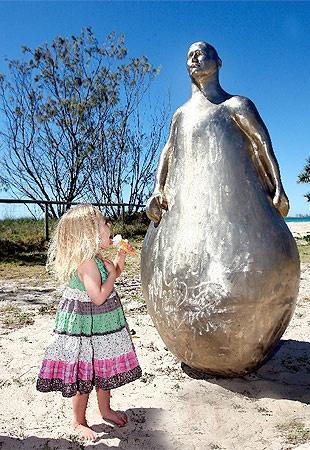 Swell sculptures shine in Coast sun Local Gold Coast News | goldcoast.com.au | Gold Coast, Queensland, Australia