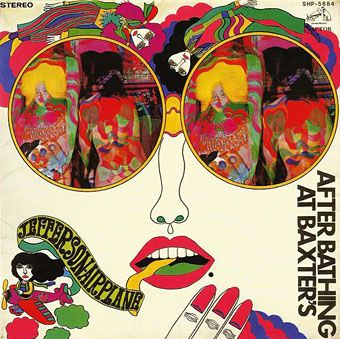 """From the man who can more than give Tadanori Yokoo a run for his money, never mind have his work mistaken for his, Keiichi Tanaami's excellent work for Jefferson Airplane's """"After Bathing at Baxter's."""""""