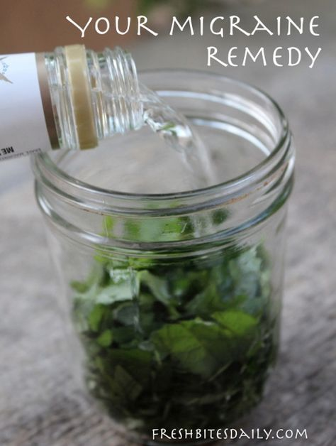Your New Natural Migraine Remedy: A Simple And Inexpensive Herbal Tincture...http://homestead-and-survival.com/your-new-natural-migraine-remedy-a-simple-and-inexpensive-herbal-tincture/