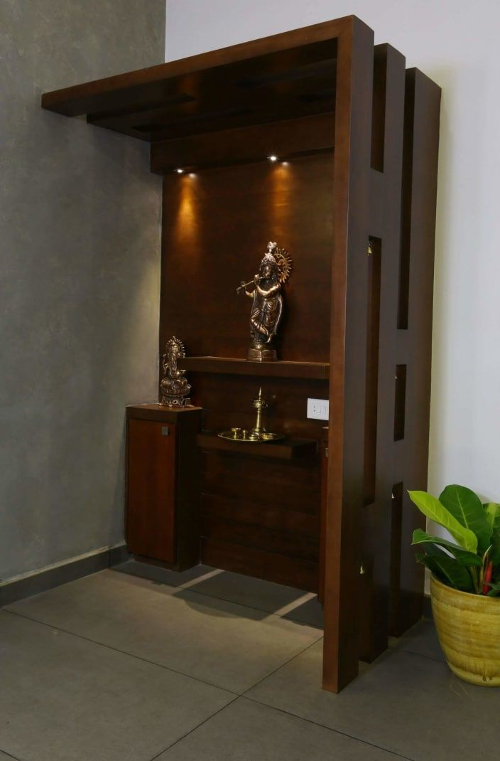 Image Result For Hotel Room Door Designs: Image Result For Contemporary Pooja Unit