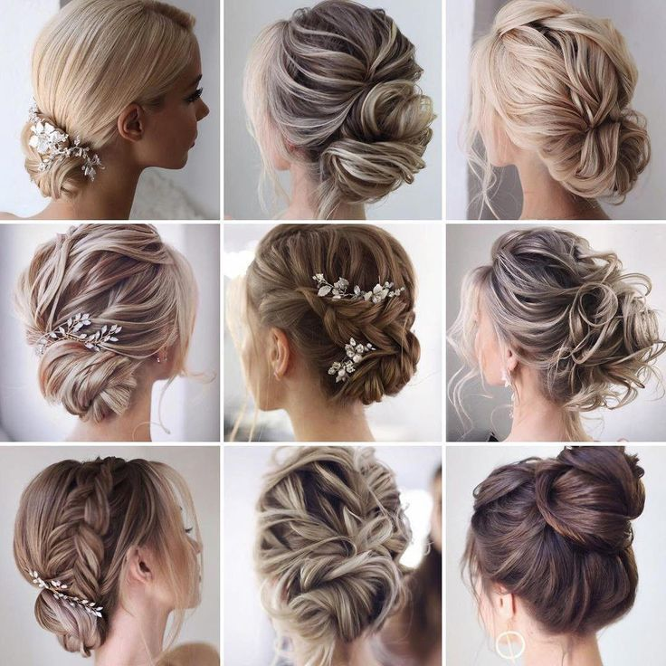 9 Beautiful bride hairstyles inspiration for a Wedding or prom #PromHairstyle