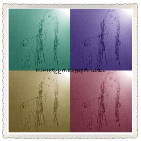 Mun pikku ponit - My little ponies | Miniatyyria