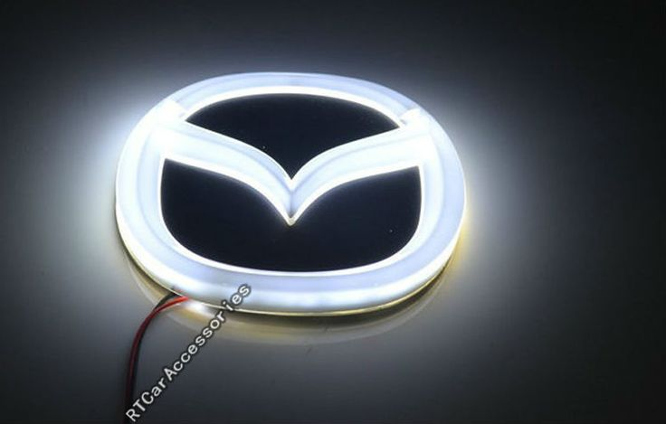 Aliexpress.com : Buy Newest Style 3 Colors Mazda LED Logo Light For Mazda M3 M2 M8 CX 7 With Mazda Emblem from Reliable logo light suppliers on RTCarAccessories Online Store $27.79
