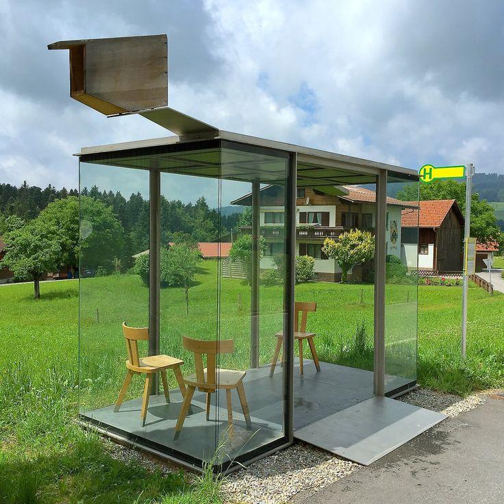 bus stop Zwing by Smiljan Radic 2014