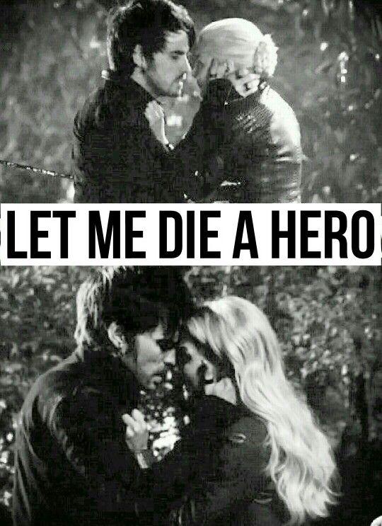 """""""Let me die a Hero"""" - 5x11 """"Swan Song"""" #OUAT5"""