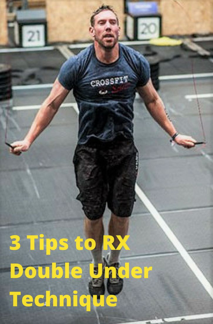 3 Tips to RX Double Under Technique BEFORE The Open Starts
