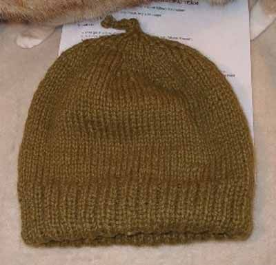 Knitting Pattern Double Layer Hat : Sarahs Double Hat - double layer knitting pattern ...