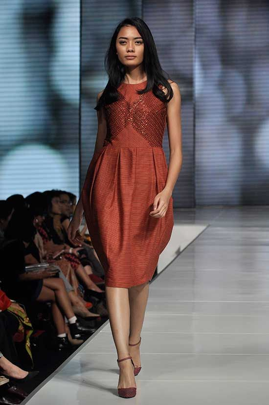 Didiet Maulana Jakarta Fashion and Food Festival runway. Photos via Getty.