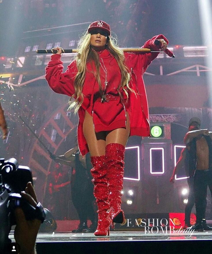 """16.2k Likes, 321 Comments - Fashion Bomb Daily (@fashionbombdaily) on Instagram: """"@Jlo performed at last night's #tidalxbrooklyn concert in a red look from @imngo 's Spring 2018…"""""""