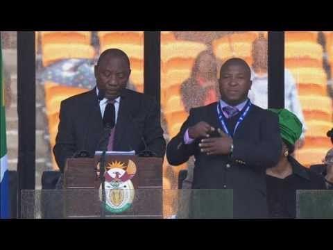 "Nelson Mandela sign language interpreter ""a complete fraud"" - Truthloader WOW. CLASSLESS. :("