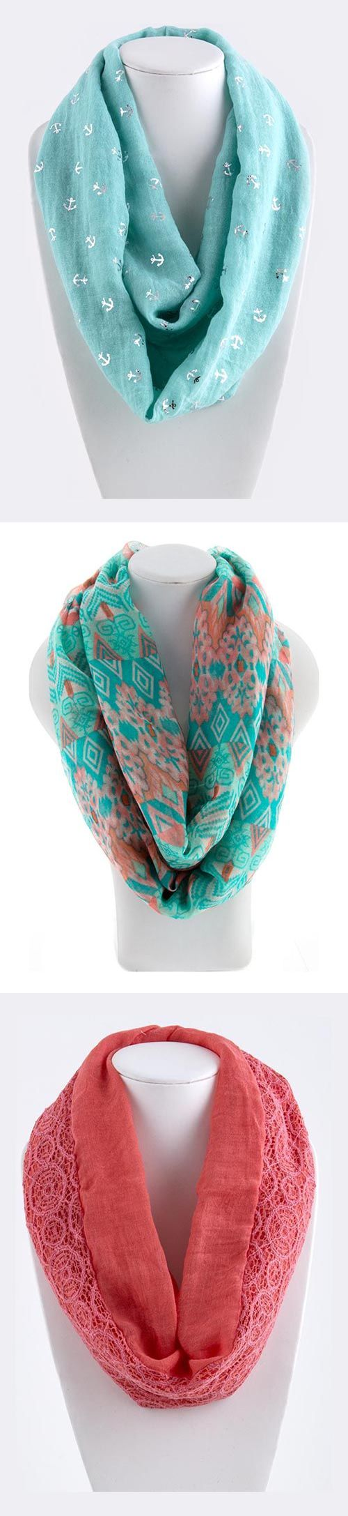 Cute Infinity Scarves that are on the classier side of fashion