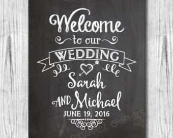 Tafel-Willkommen auf unserer Hochzeit-Schilder Pfeilzeichen