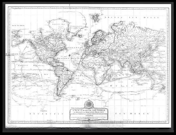 29 best old world maps vintage maps and antique maps images on a new chart of the world laurie whittle 1800 gumiabroncs
