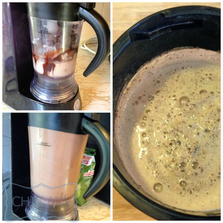 how to make McDonald's Chocolate Chip Frappes right from home! :D