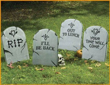 Halloween Tombstones To Set Up Your Own Halloween Graveyard | Best # Halloween Costumes u0026 Decor