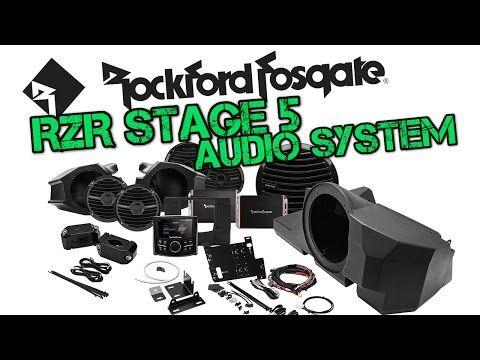 Rockford Fosgate Stage 5 Audio System for Polaris RZR XP 1000 | S 900: SideBySideStuff.com