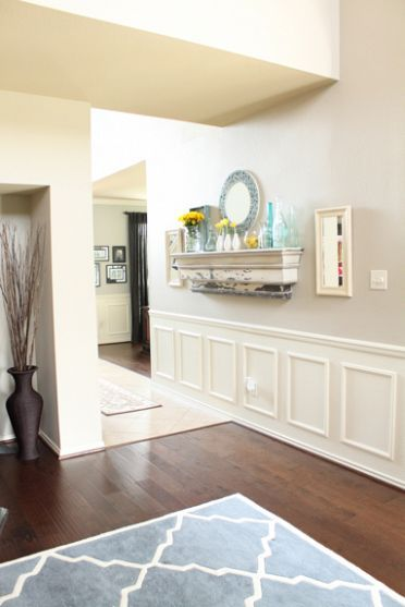 12 Best Faux Wainscoting Diy Images On Pinterest Faux