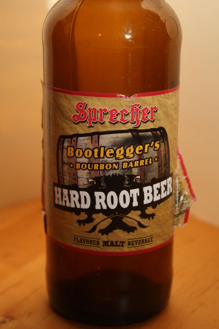 Sprecher Bootlegger's Bourbon Barrel Hard Root Beer