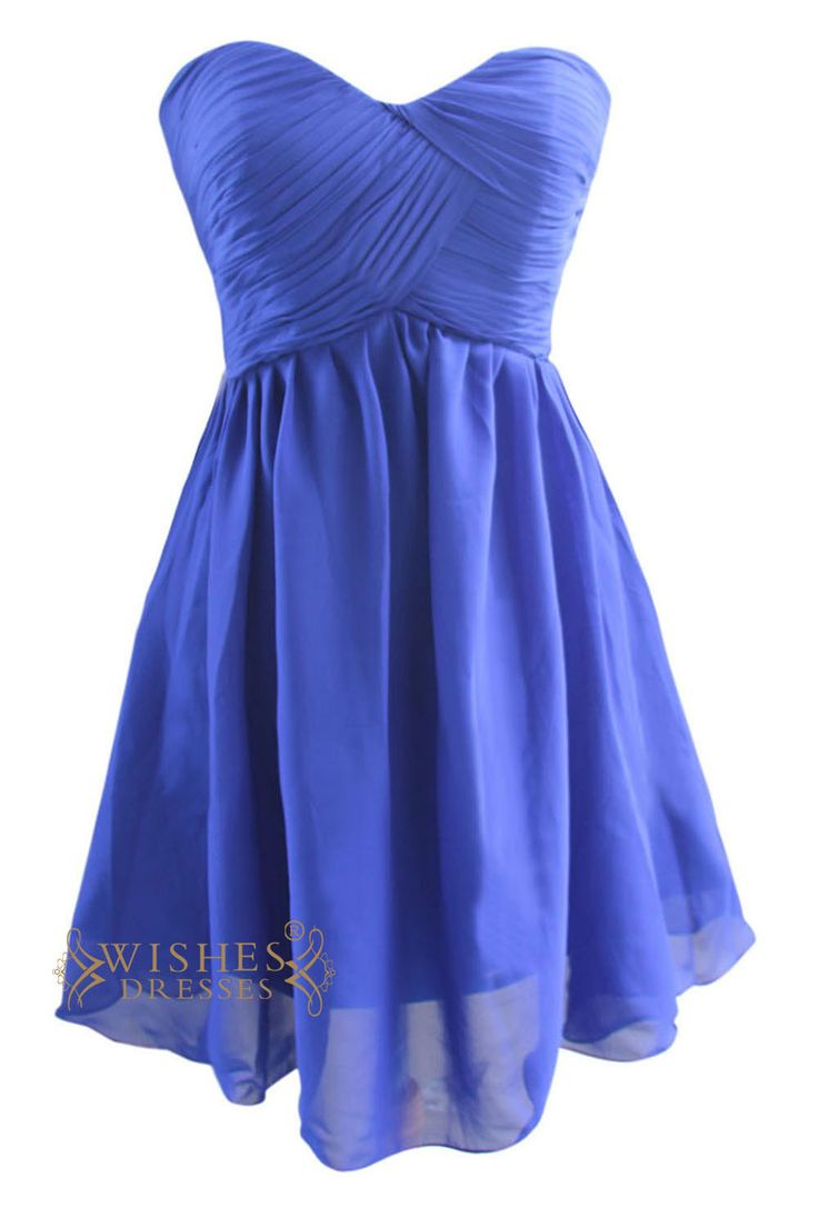 Look charming at your prom, sweet 16 party in this stunning short ruched dress,strapless top with criss-cross front and zipper back. Neckline:Sweetheart Length:Knee length Details:Ruched Fabric:Elasti