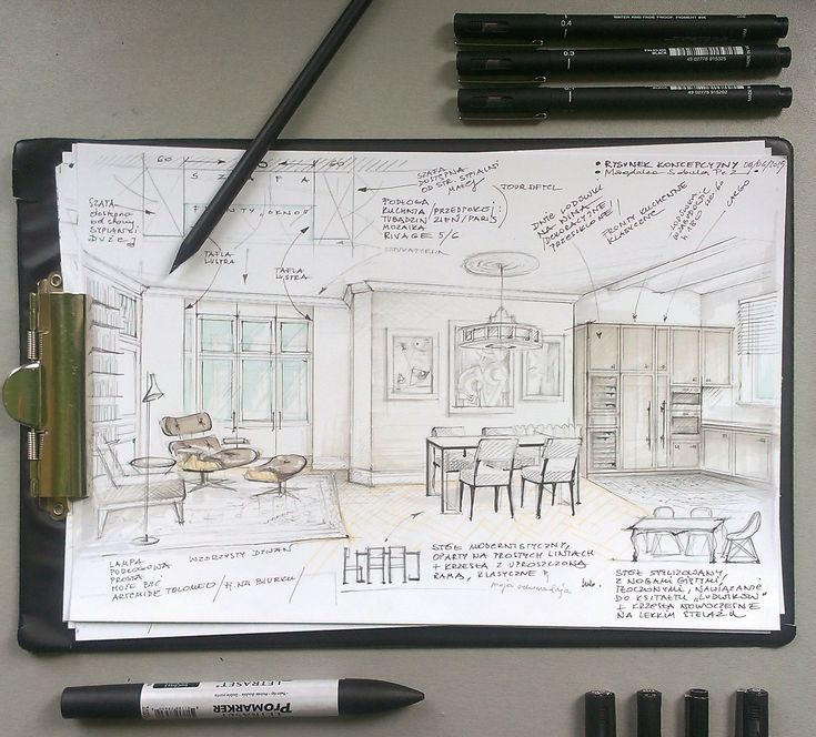 interior illustration for my client