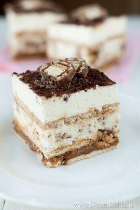 Ciasto dla wielbicieli słodkich deserów i batoników Lion
