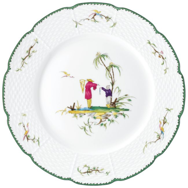 #Raynaud - Limoges #porcelain - Desert #plate from the Si Kiang collection, available in 6 motives