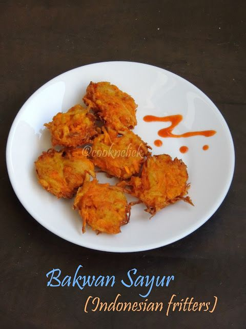 Bakwan Sayur - Indonesian Vegetable Fritters | Cook N Click