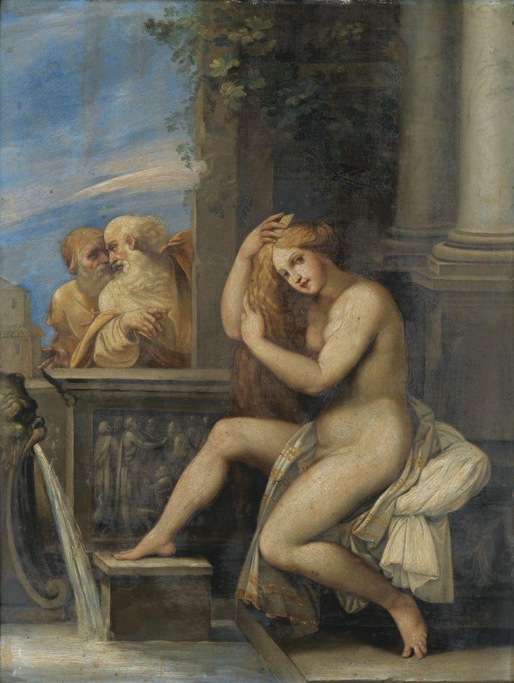 Suzanne et les vieillards, le Cavalier d'Arpin