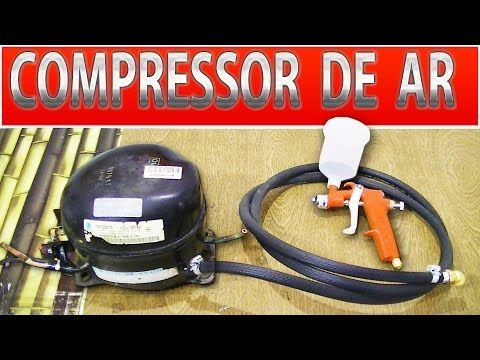 DIY compressore frigorifero - estintore - YouTube