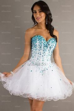 1000  images about Fluffy dresses on Pinterest  Short prom ...