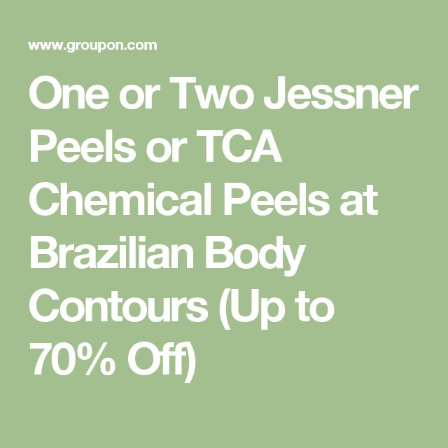 One or Two Jessner Peels or TCA Chemical Peels at Brazilian Body Contours (Up to 70% Off)