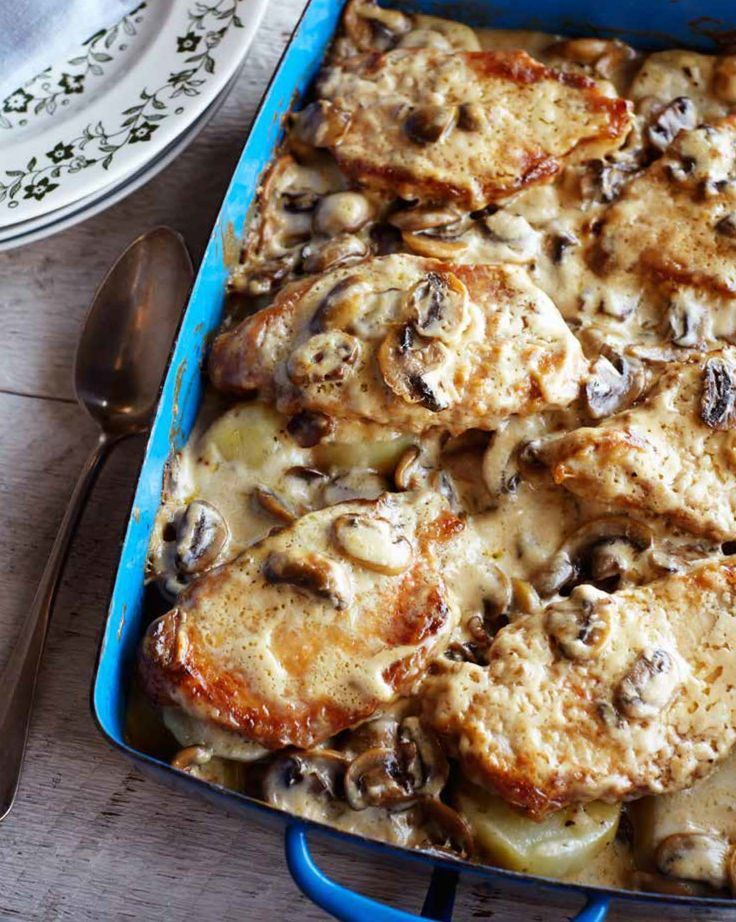 Pork Chop Casserole | Recipe from 'Country Cooking from a Redneck Kitchen'