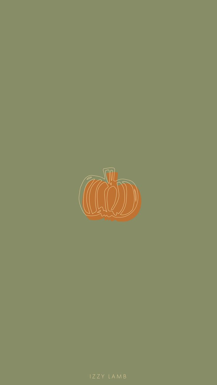 October pumpkin wallpaper #October #fall #autumn #iphone #wallpaper