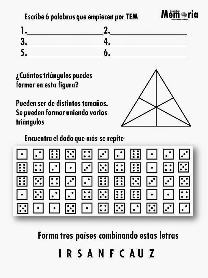 Único Hojas De Actividades Imprimibles Para Adultos Colección de ...