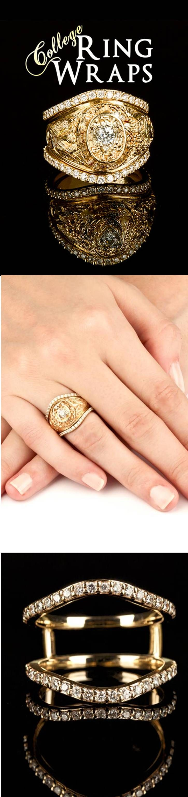 Diamond wrap for your Aggie ring!