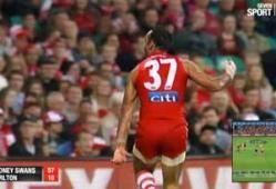 Adam Goodes Displays His Culture During Indigenous Round; Australia Implodes | newmatilda.com