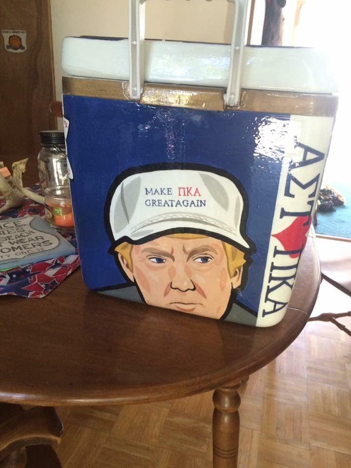 fraternity trump republican cooler