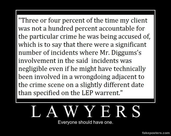 Lawyers: Everyone should have one. | Artemis Fowl, The Last Guardian, Mulch Diggums, the LEP