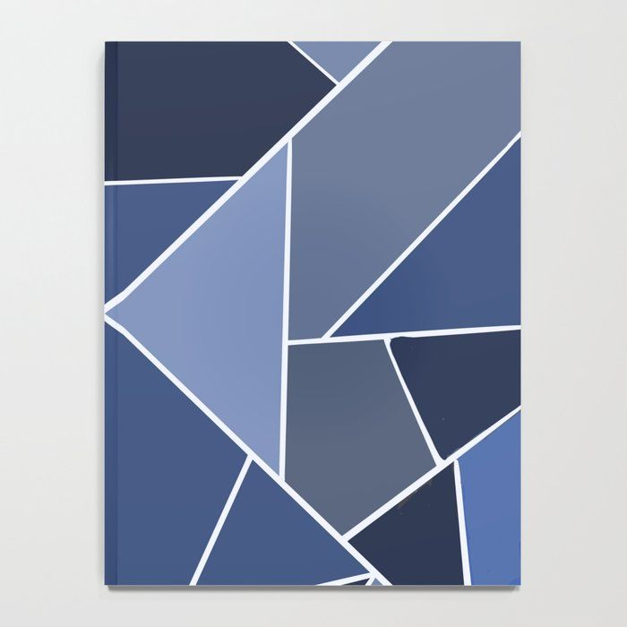 Blue and black Notebook notebook aesthetic notebook ideas ...