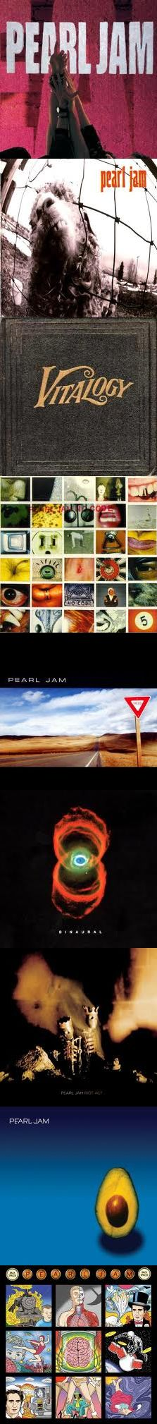 EPIC ALBUM, life changing! Pearl Jam 10