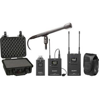 Sony   UWP-V6 Wireless ENG Basic Kit (30/32 - 566 to 590MHz)