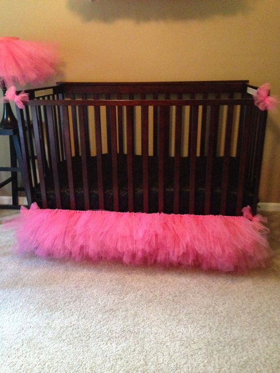 Hey, I found this really awesome Etsy listing at https://www.etsy.com/listing/199788701/tulle-crib-skirt