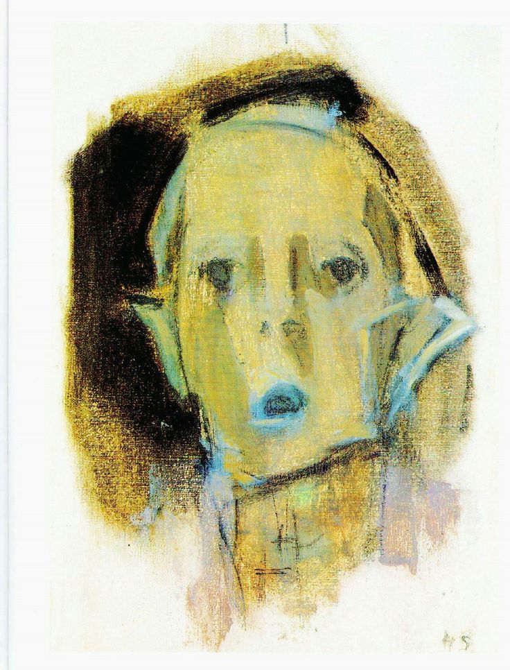 Helene Schjerfbeck(Finnish, 1862–1946), 'Self Portrait', 1945