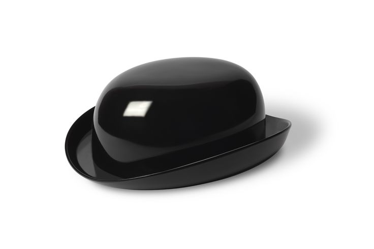 Bowler Hat Butter Dish