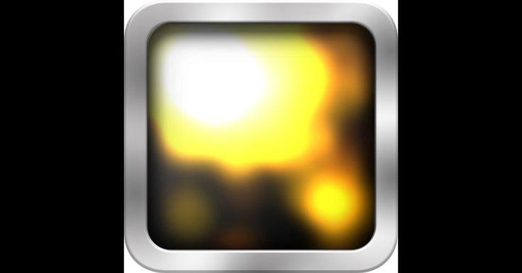「cause and effect sensory sound」 LightBoxの姉妹アプリ.こちらもエフェクトの種類が多い.また画面の触れる位置によって音が変化する.