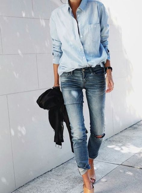 Street style | All-denim everything
