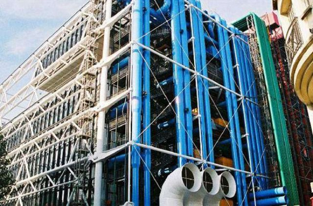 (PHOTO: centrepompidouparis.com)  The world's ugliest buildings:   Centre Pompidou, France  Designed by Renzo Piano and Richard Rogers, Centre Pompidou is located in the heart of Paris. According to the Centre Pompidou Paris website, the building is meant to reflect a 'constraint-free architecture in the spirit of the 1960s'. Well it's certainly psychedelic...