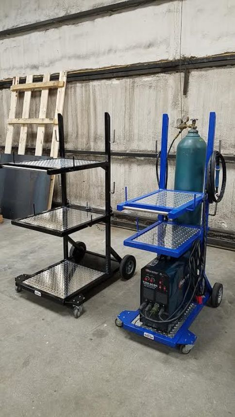 Dan's Custom Welding Tables - Gibbon, MN - High Quality Welding Tables - Welder Carts